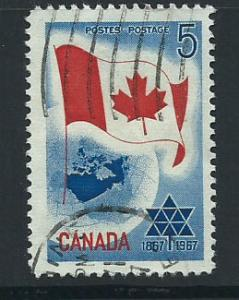Canada SG 578 Fine Used