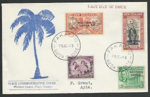 TOKELAU IS 1948 cover FAKAOFO / UNION ISLANDS cds..........................12672
