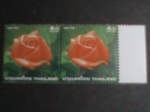THAILAND STAMP -2004 -SC#2114- LOVELY ROSE WITH IMPREGNATED WITH ROSE SCENT