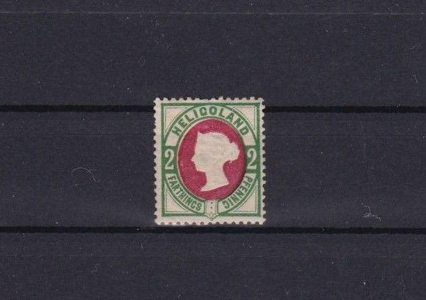 HELIGOLAND 1875 2pf MOUNTED MINT STAMP        REF 5813