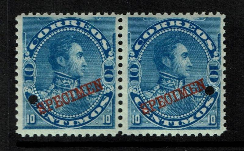 Venezuela 1893 10c blue Specimen, Mint Never Hinged - S1425
