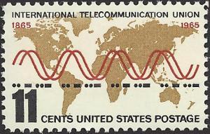 # 1274 MINT NEVER HINGED INTERNATIONAL TELECOMMUNICATION