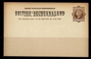 Bechuanaland - 1p UPU Postal Card Unused - 091717
