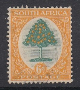 SOUTH AFRICA, Scott 25a, used