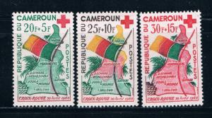 Cameroun B30-32 MNH set Map and Flag 1961 (C0231)+