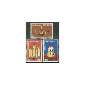 Neth Antilles 448,B172-B173,MNH.Michel 409-411. Fort Church,Curacao,1979.
