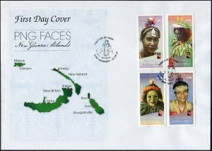 Papua New Guinea. 2018. New Guinea Islands 2 (Mint) First Day Cover