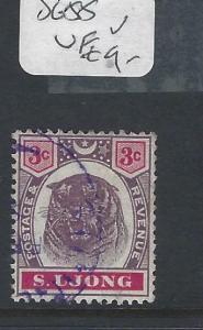 MALAYA SUNGEI UJONG  (P0502B)    3C   TIGER  SG 55     VFU