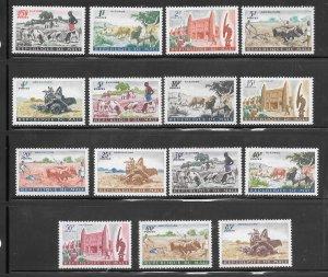 Mali #16-30 MH Set of 15