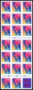 USA 3122a Mint (NH) Book of 20+1