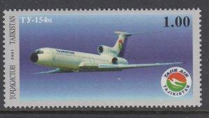 Tajikistan 176 Airplane MNH VF
