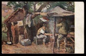 Czech Legion WWI-era Original Postcard Italy USED 93616