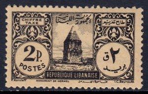 Lebanon - Scott #J44 - MH - SCV $4.75