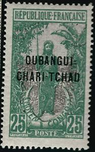 Ubangi-Shari Sc #11 F-VF MNH French Colonies are Hot!