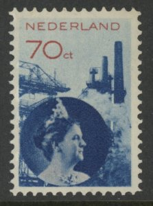 Netherlands 195 - mh 70 cents