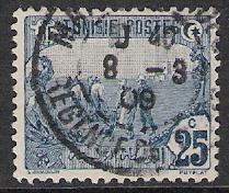 Tunisia #39 Plowing Used
