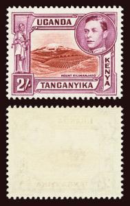 KENYA, UGANDA and TANGANYIKA Scott #81 (SG 146b) 1944 KGVI mint NH