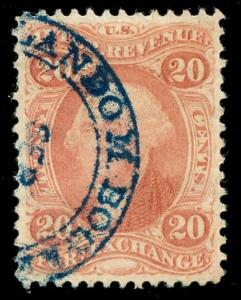momen: US Stamps #R41c Used Revenue XF