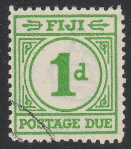 FIJI POSTAGE DUE 1940 1d SG D11 fine used - scarce used - cat £70...........A813