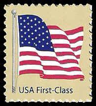 PCBstamps US 4130 41c Flag Die Cut 1125x1075 MNH