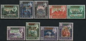SOUTH ARABIA FEDERATION-1907 World Peace Set Sg 99-107 UNMOUNTED MINT V40431