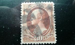 US #217 used e195.4219
