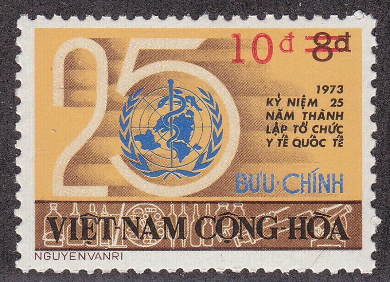 SOUTH VIETNAM MNH Scott # 515 Surcharged (1 Stamp) -1 (4)
