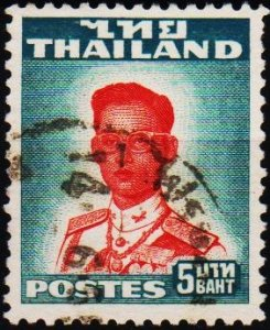 Thailand. 1951 5b S.G.347 Fine Used