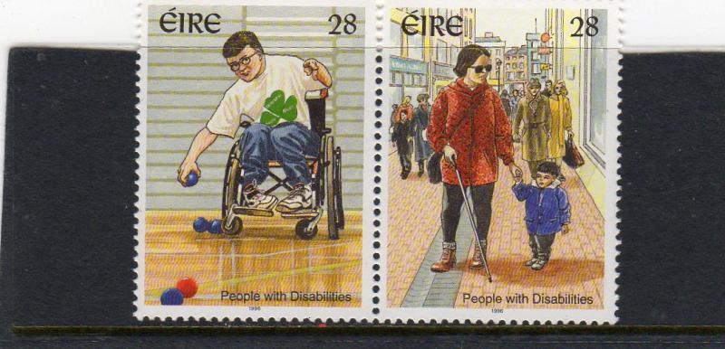 Ireland 1996 People with Disabilities  MNH