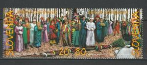 Slovenia 1998 Traditional Costumes 2 MNH Stamps