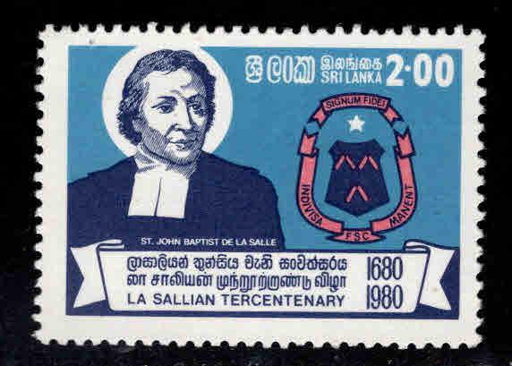 Sri Lanka Scott 603 MNH** 1981 St. John the Baptist