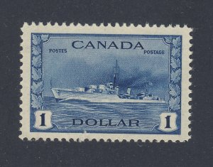 Canada MNH VF Stamp #262-$1.00 Battleship MNH VF Guide Value = $120.00