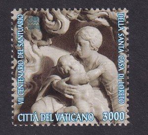 Vatican City   #977  MNH  1995    marble carving  3000 l