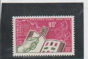 Somali Coast  Scott#  301  MNH  (1964 PHILATEC)