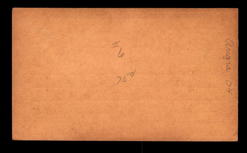 Angra 30R Reply Card Unused / Tiny Corner Crease - L11070