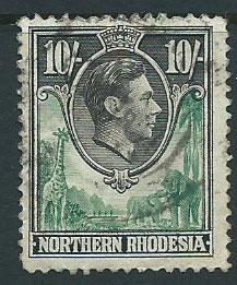 Northern Rhodesia  SG 44  Used