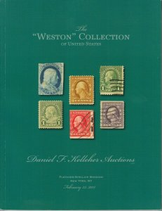 The Weston Collection of US Stamps & Airmail Plate Blocks. 2013 Kelleher Sale