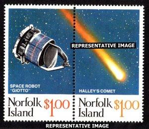 Norfolk Islands Scott 381a-381b Mint never hinged.