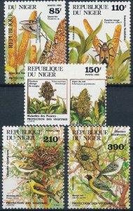 [I672] Niger 1985 Fauna/Flora good set of stamps VF MNH Value $15.60