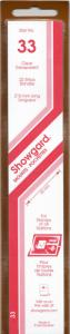 SHOWGARD CLEAR MOUNTS 215/33 (22) RETAIL PRICE $9.75