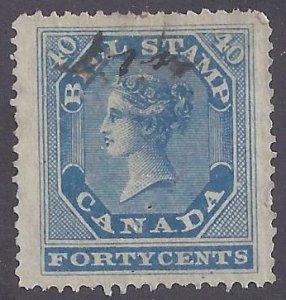 Canada Revenue scott #FB13 used VF