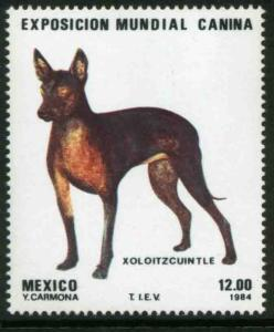 MEXICO 1348 World Dog Exposition MINT, NH. VF.