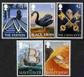 Great Britain 2003 Pub Signs perf set of 5 unmounted mint...