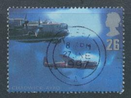 Great Britain SG 1985  Used  - British Aircraft Designers