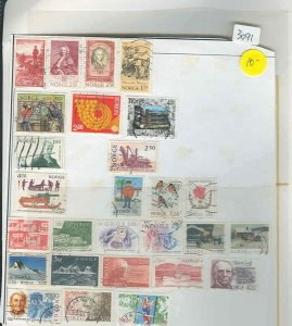 s3091 Stamp Mixture expect duplication Norway
