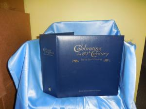 Postal Commemorative Society Celebrating the 20th Century binder