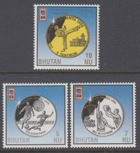 Bhutan 1125-1127 Olympics MNH VF