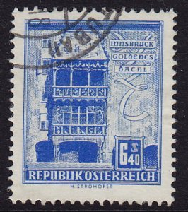 Austria - 1960 - Scott #629A - used - Innsbruck