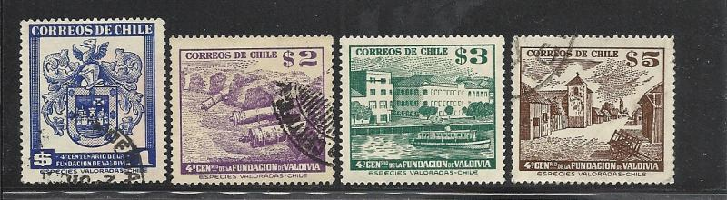 Chile #269-72 comp used Scott cv $1.70