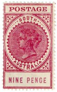 (I.B) Australia Postal : South Australia 9d (SG 286)
